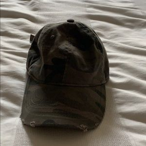 Express camo baseball hat